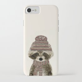 little indy raccoon iPhone Case