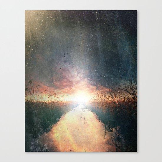 Dreams of dust Canvas Print