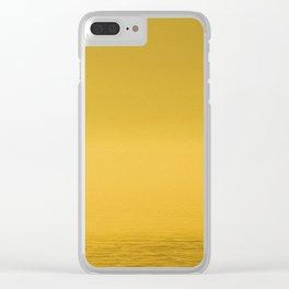 Paint Pêcheur sun yellow Clear iPhone Case