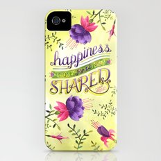 Shared Happiness iPhone (4, 4s) Slim Case