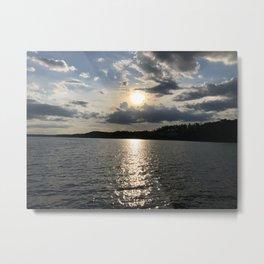 Afternoon on the Lake Metal Print