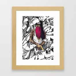 The Crazy One Framed Art Print