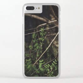 Overgrown || Clear iPhone Case