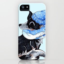 Keepin' Cozy iPhone Case