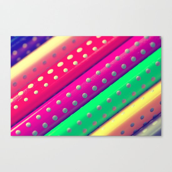 Rainbow Colors Canvas Print