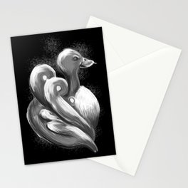 BW Swan - Mazuir Ross Stationery Cards