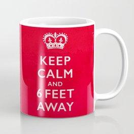 Keep Calm-Benefits Charity-red Coffee Mug