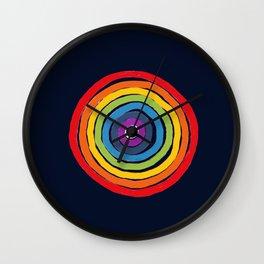Bulls Eye  to love Wall Clock
