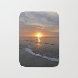 Sun-kissed Sea Bath Mat
