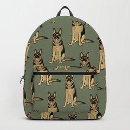 German Shepherd Dog Backpack