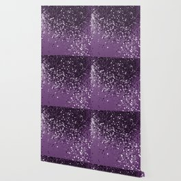 PURPLE Glitter Dream #1 #shiny #decor #art #society6 Wallpaper