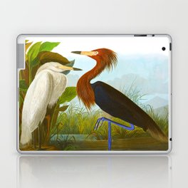 Purple Heron Laptop & iPad Skin