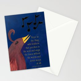 A Song of Hope Stationery Cards