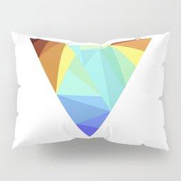 minimal geometry abstract art Pillow Sham