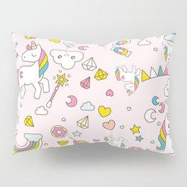 Unicorn Pattern Pillow Sham