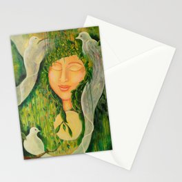 """""""Garden Bliss"""" Stationery Cards"""