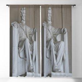 President Lincoln Statue - Washington DC Blackout Curtain