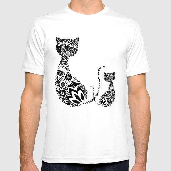 Cats Of Inversion - Digital Work T-shirt