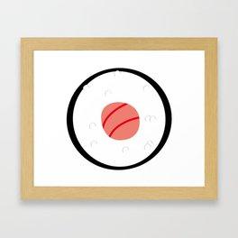 Maki sushi lover Framed Art Print