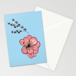 Apple Blossoms Stationery Cards