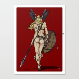 The Valkyrie Canvas Print