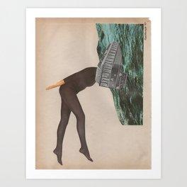 Hypomaniac Art Print