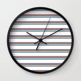 Cool Stripes Wall Clock
