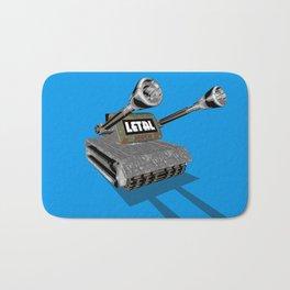 Tank 3D toon Bath Mat