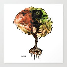 A Tree of Life Canvas Print