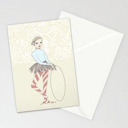 Harlequin Girl Stationery Cards