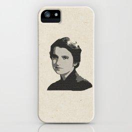 Rosalind Franklin iPhone Case