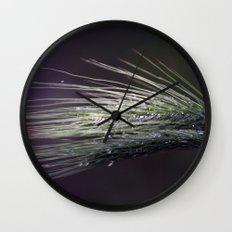 gocce di rugiada Wall Clock