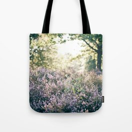 morning heather Tote Bag