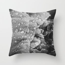 Flower at Dusk Throw Pillow