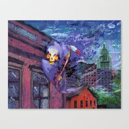 DEAD CITY Canvas Print