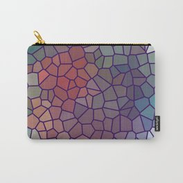Jewel Tone Stained Glass Carry-All Pouch