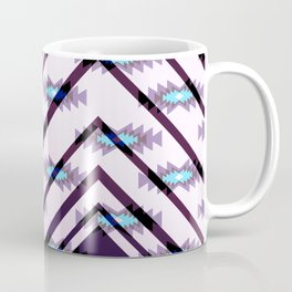 Ultraviolet ethnic pattern Coffee Mug