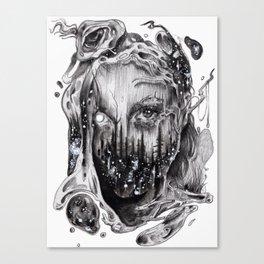 Cut Joint Sinews & Divided Reincarnation Canvas Print