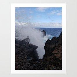 Ocean Explosion Art Print