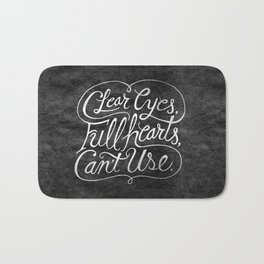 Clear Eyes, Full Hearts, Can't Use Bath Mat