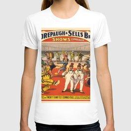 Vintage poster - Circus Advertisement T-shirt