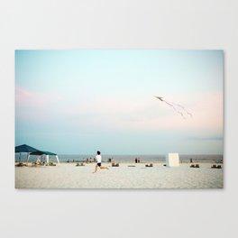 Running Beach Canvas Print