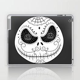 Jack's Skull Sugar (Vector Mexican Skull) Laptop & iPad Skin