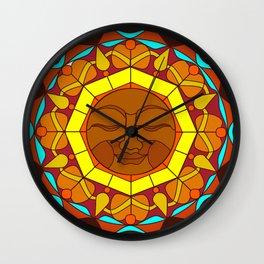 Man in the Moon, Tatoo style Wall Clock