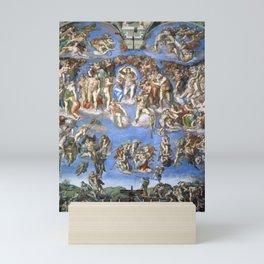 "Michelangelo ""The Last Judgment"" Mini Art Print"