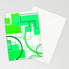 Typography: Stencil Font and San Serif Font Stationery Cards
