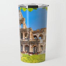 Roman Coliseum, Rome, Italy. Travel Mug