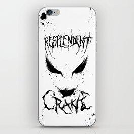 Resplendent Crane iPhone Skin