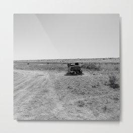 Desert Resting Place Metal Print