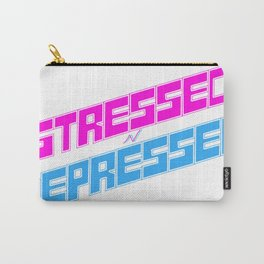 STRESSED n DEPRESSED Carry-All Pouch